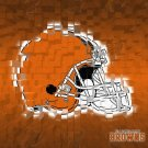 Cleveland Browns Logo Football NFL 16x12 Print Poster