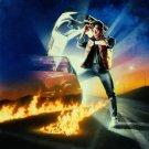 Back To The Future Adv Movie Fantasy Christopher Lloyd 16x12 Print POSTER