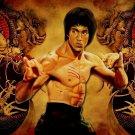 Bruce Lee Actor Jing Wu Men 16x12 Print POSTER