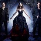The Vampire Diaries Elena Gilbert Stefan Salvatore 16x12 Print POSTER