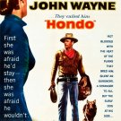 Hondo John Wayne Retro Movie Vintage 16x12 Print Poster