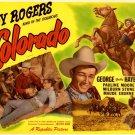 Colorado Roy Rogers Retro Movie Vintage 16x12 Print Poster