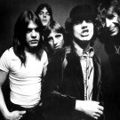 ACDC Hard Rock Band Music BW Vintage 16x12 Print Poster