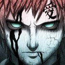 Sabaku No Gaara Manga Anime Art 16x12 Print Poster