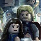 LEGO Marvel Super Heroes Video Game Art 16x12 Print Poster