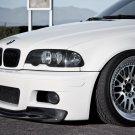 BMW M3 E46 White Car 16x12 Print Poster