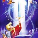 The Sword In The Stone Walt Disney Art 16x12 Print Poster