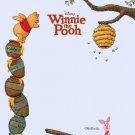 Winnie The Pooh Piglet Walt Disney Art 16x12 Print Poster