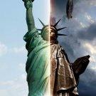 Fringe Statue Of Liberty TV Series 16x12 Print Poster