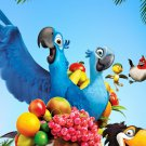 RIO Parrots Animation Movie 16x12 Print Poster