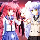 Angel Beats Anime Art 16x12 Print Poster