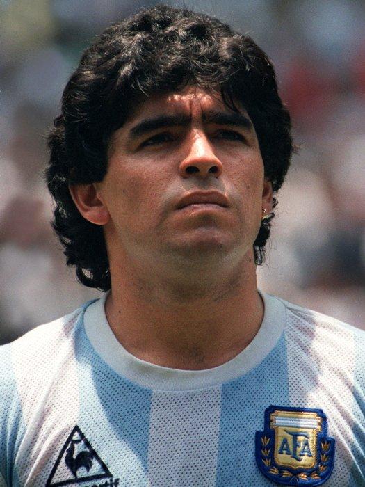 Diego Armando Maradona Legend Football 16x12 Print Poster