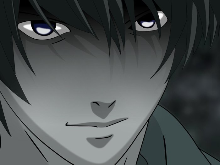Light Yagami Death Note Anime Art 16x12 Print Poster