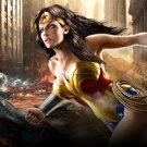 Wonder Woman Comic Art 16x12 Print Poster