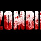 Zombie Blood Text Art 16x12 Print Poster