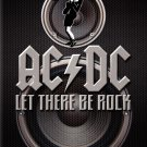 ACDC Rock Band Music 16x12 Print Poster