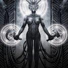 HR Giger Sci Fi Fantasy Art 16x12 Print Poster