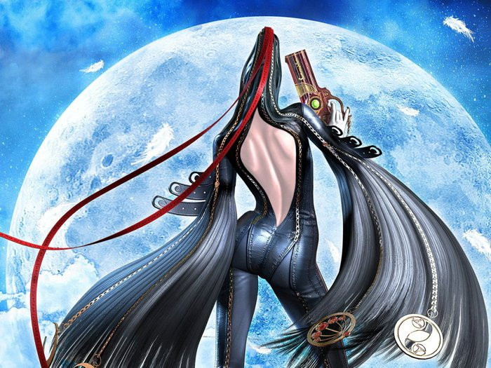Bayonetta Hot Butt Game Art 16x12 Print Poster