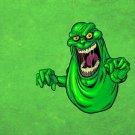 Ghostbusters Slimer Movie Art 16x12 Print Poster