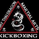 Muay Thai Dragon Martial Kickboxing Arts 16x12 Print Poster