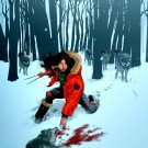 X 23 X Men Marvel Comics Snow Blood Art 16x12 Print Poster