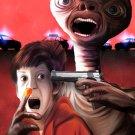 Bad Alien E T The Extra Terrestrial Art 16x12 Print Poster