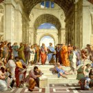 The School Of Athens Raphael Painting Art 16x12 Print Poster