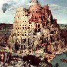 Tower Of Babel Pieter Bruegel The Elder Art 16x12 Print Poster