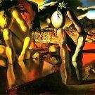 Dali Metamorphosis Of Narcissus 1937 Art 16x12 Print Poster
