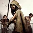 The Walking Dead Michonne Danai Gurira 16x12 Print Poster