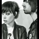 Crystal Castles Band Synthpop Music BW 16x12 Print Poster
