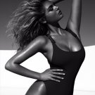 Kate Upton Hot Model Sexy Swimsuit BW 16x12 Print Poster