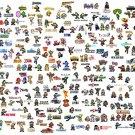 Mega Men 8 Bit Pixelated Game Characters Art 16x12 Print Poster