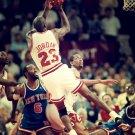 Michael Jordan Fadeaway Shot NBA 16x12 Print Poster