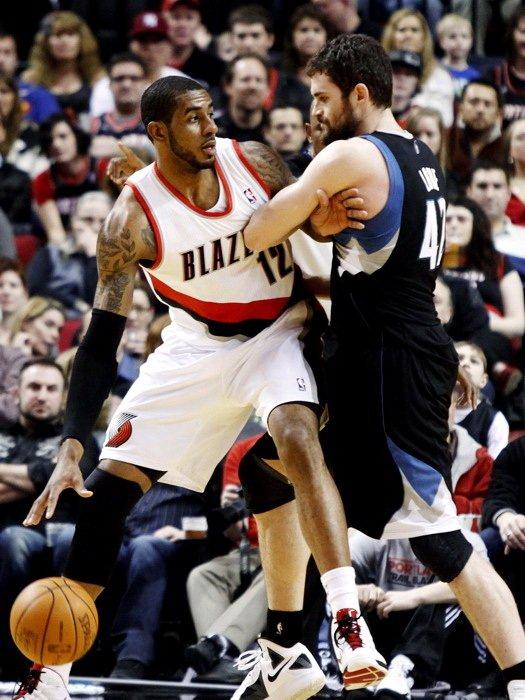 LaMarcus Aldridge Portland Trail Blazers NBA 16x12 Print Poster