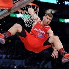 Blake Griffin Slam Dunk Contest Elbow NBA 16x12 Print Poster