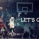 Lebron James NBA Finals 2012 16x12 Print Poster