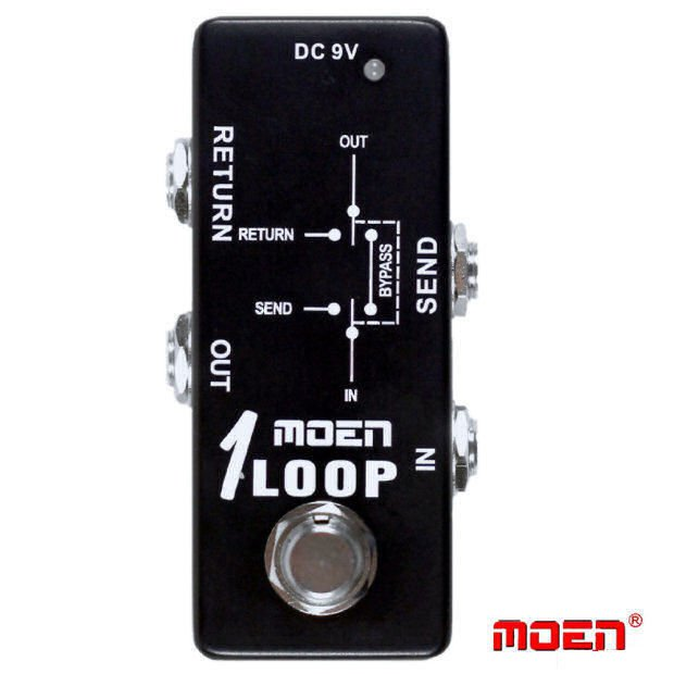 Moen 1 Loop True Bypass Passive Loop Box NEW JUST RELEASED!