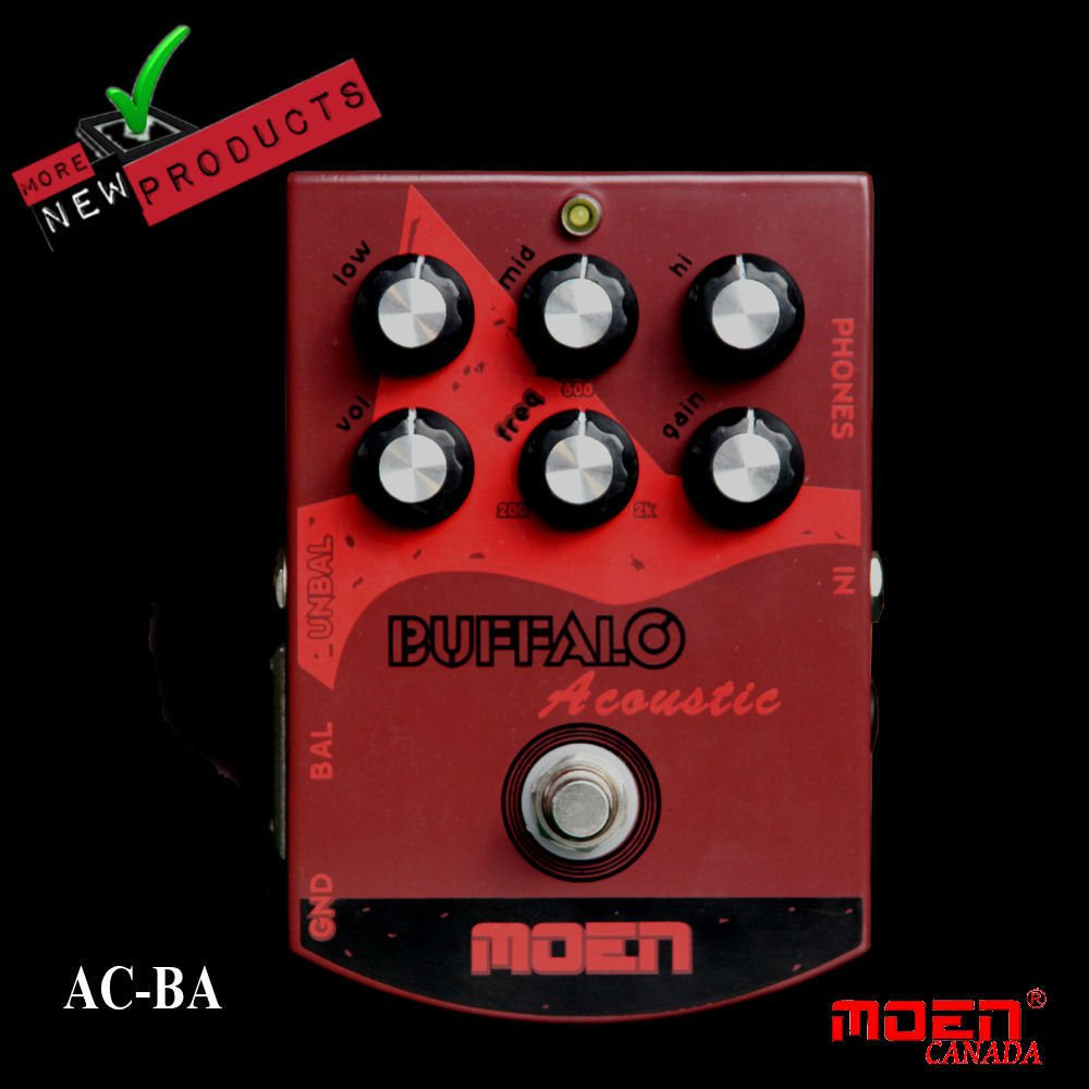 Moen AC-BA Buffalo Acoustic DI Speaker Simulator EQ NEW JUST RELEASED!