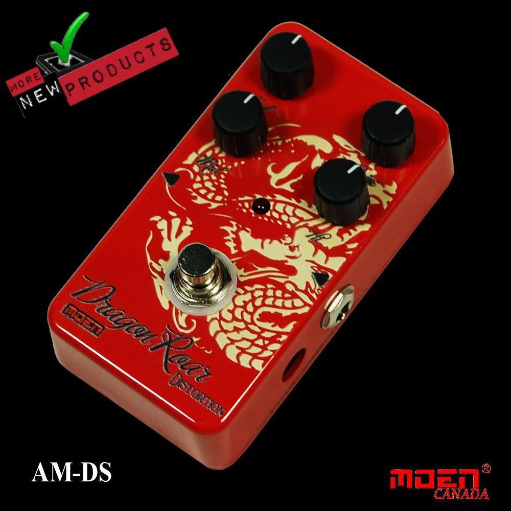 Moen AM-DS Dragon Roar High Gain Distortion NEW JUST RELEASED!