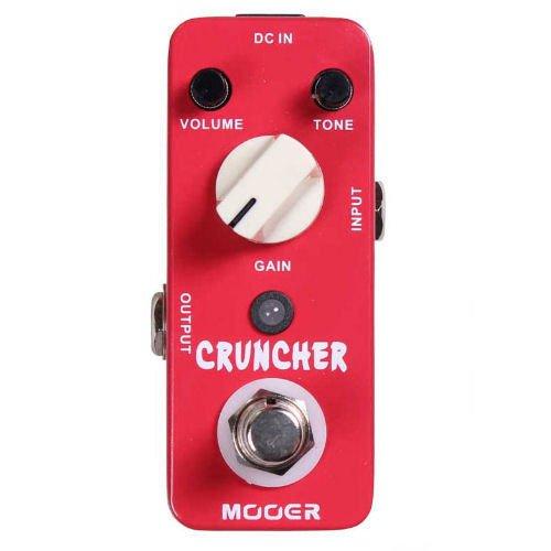 Mooer Cruncher High Gain Distortion Guitar Effects Pedal