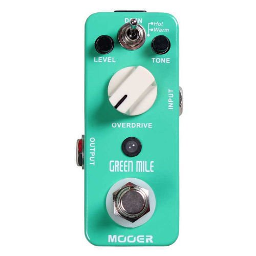 Mooer Green Mile Overdrive/Distortion Guitar Effects Pedal
