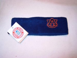 Auburn Tigers Blue Arctic Fleece Headband NWT
