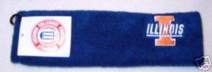 Illinois Fighting Illini Blue Fleece Headband NWT