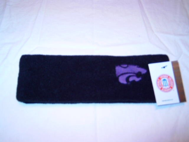 Kansas State Wildcats Black Arctic Fleece Headband