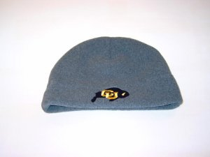 Colorado Buffalos Grey Arctic Fleece Skull Cap