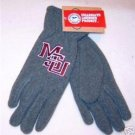 Officially Licensed NCAA Mississippi State MSU Ladies Lightweight Fleece Gloves