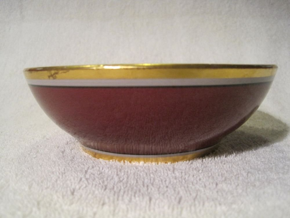 Vintage Mayer China The Harley New York Hotel Bowl Dessert Fruit Cereal