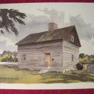 "Paul N Norton Watercolor Print Francis McNairy House 12"" x 17"""
