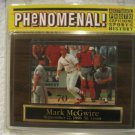 New Sealed Mark McGwire Wood Plaque 70th Home Run Sept. 27,1998 St. Louis 70